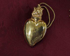 corazón dorado