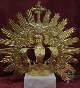 corona del espíritu santo