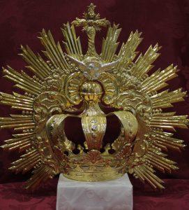 corona espíritu santo