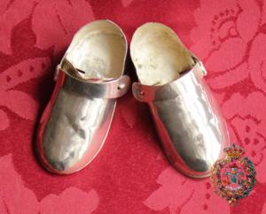 zapatos niño plata