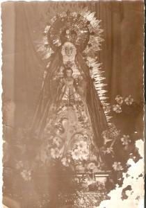 1937.La Santísima Virgen en el oratorio Oratorio.