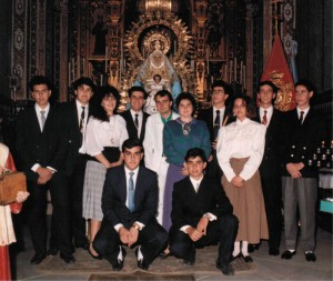 PRIMERA FOTO OFICIAL DE NUESTRO CORO.