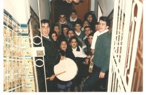 Año 1989. Ruta de la Nochebuena