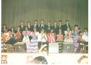Año 1990. Feria Caseta Municipal.