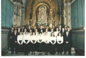 Año 1991. Capilla de Ntra. Sra. del Dulce Nombre.