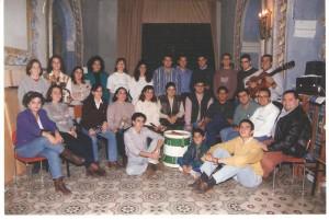 """Año 1994. Capilla de """"La Milagrosa"""" (C/Ntra. Sra. del Águila) Antiguo local de ensayo"""