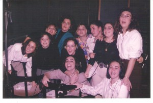 """Año 1994. Grabación del disco """"El son de la Cuna"""""""