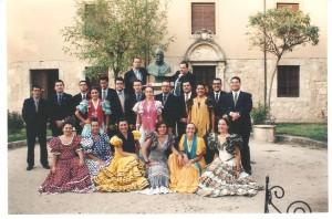 Año 1996. Actuación en Salamanca