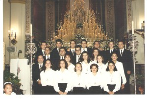 Año 1996. Función Principal de Instituto de nuestra Hermandad.