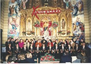 Año 1998. X Pavo, Turrón y a Cantar. Capilla de los Salesianos.