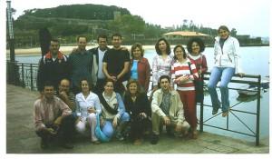 Año 2004. Boda en Bayona (VIGO)