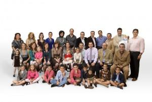 Año 2008. 20 Aniversario. UNA GRAN FAMILIA