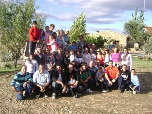 Año 2010. Convivencia en Castillo de las Guardas Noviembre 2010